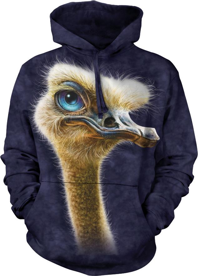 Купить The Mountain Толстовка Ostrich Totem - Страус Тотем