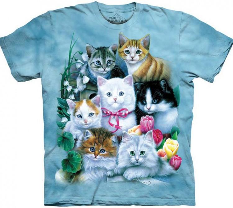 Купить The Mountain Футболка Kittens - Котята