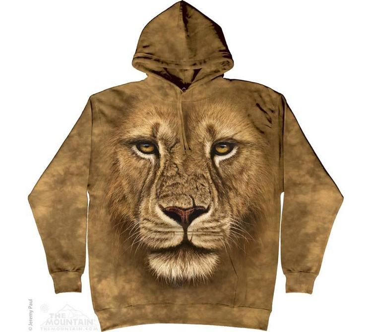 Купить The Mountain Толстовка с капюшоном Lion Warrior - Лев воин