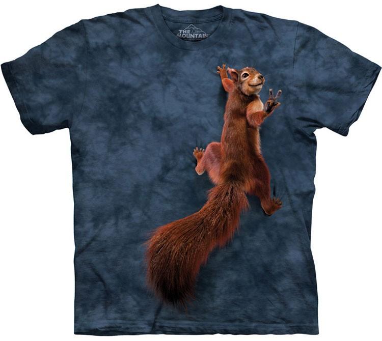 Купить The Mountain Футболка Peace Squirrel - Белка на груди