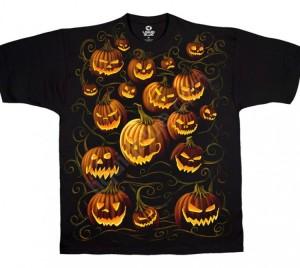Футболка Pumpkin Pile - Тыквы (Хеллоуин)