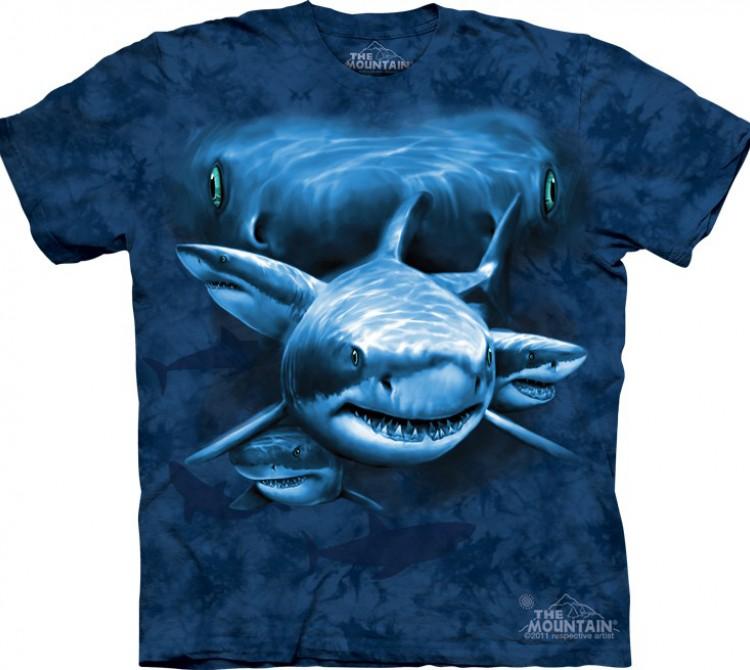 Купить The Mountain Футболка Shark Moon Eyes - Глаза акулы