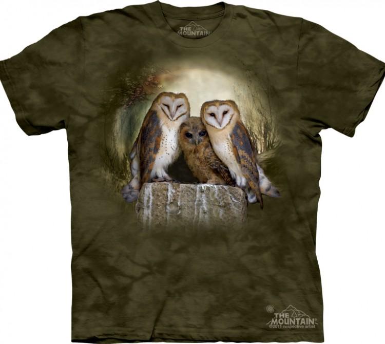 Купить The Mountain Футболка Three Owl Moon - Три совы