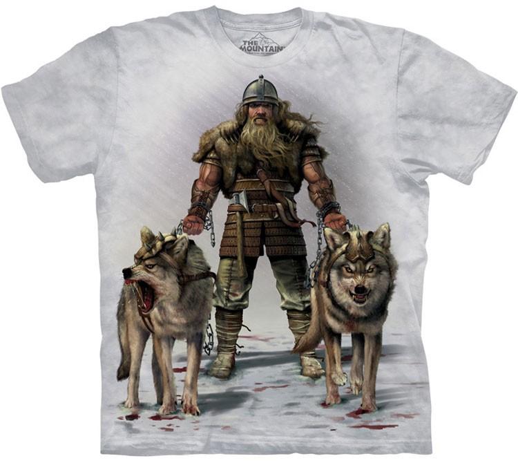 Купить The Mountain Футболка Viking Hunt - Охота викинга