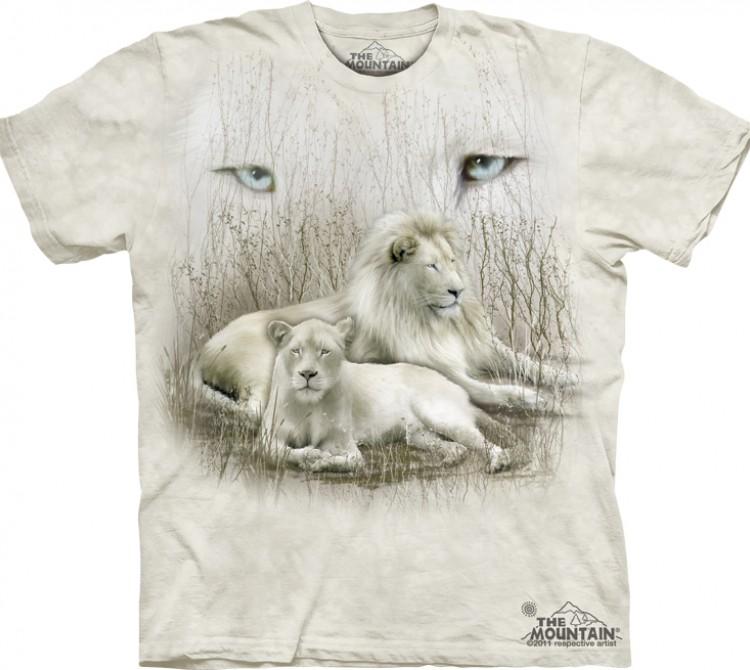 Купить The Mountain Футболка White Lion - Белые львы