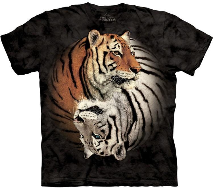Купить The Mountain Футболка Yin Yang Tigers - Инь и Ян из Тигров