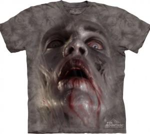 Футболка Zombie Face - Лицо зомби