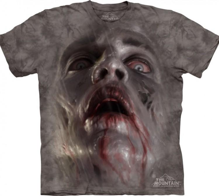 Купить The Mountain Футболка Zombie Face - Лицо зомби