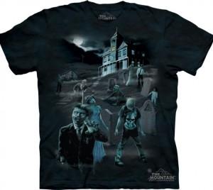 Футболка Zombies & Ghosts - Зомби и призраки (светится в темноте)