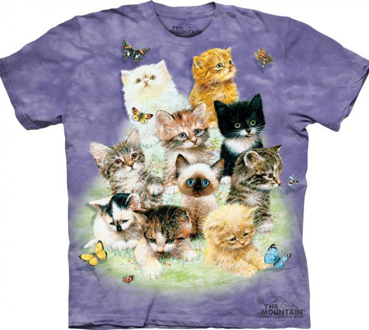 Купить The Mountain Футболка 10 Kittens - Десять котят