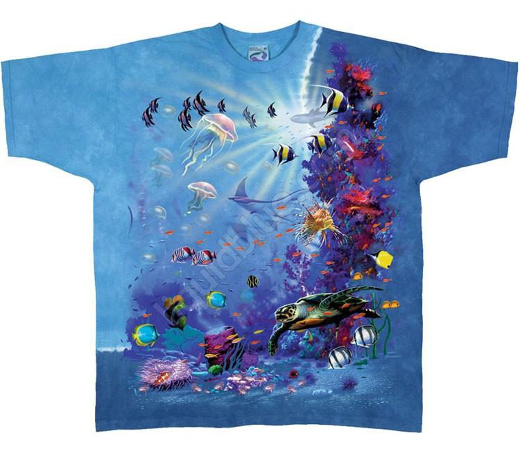 Купить Liquid Blue Футболка Tropical Reef - Тропический риф