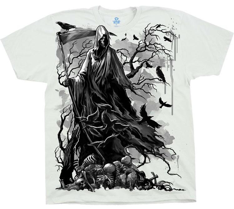 Купить Liquid Blue Футболка Reaper Crows - Вороны и смерть