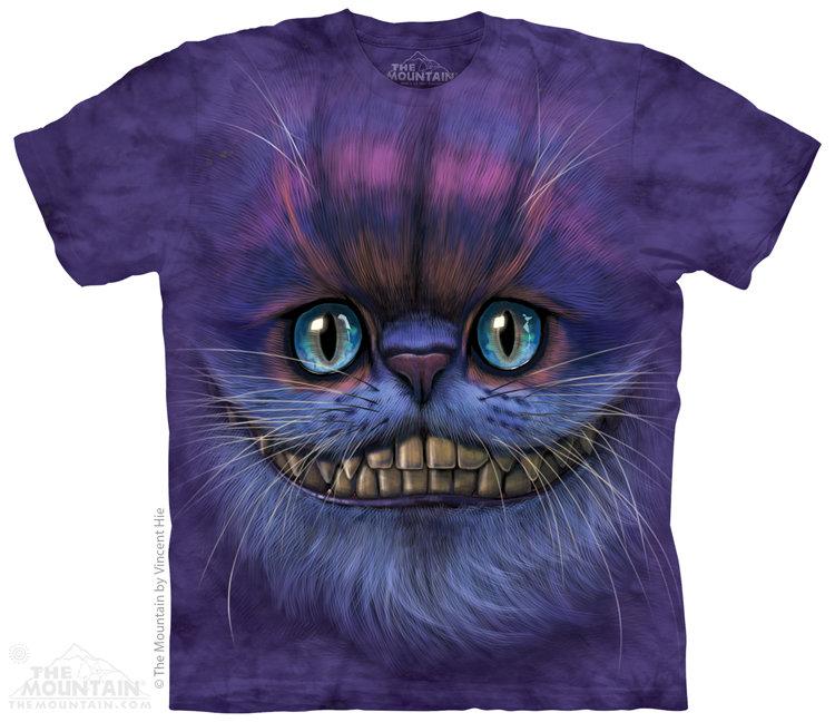 Купить The Mountain Детская футболка Big Face Cheshire Cat - Морда Чеширского кота