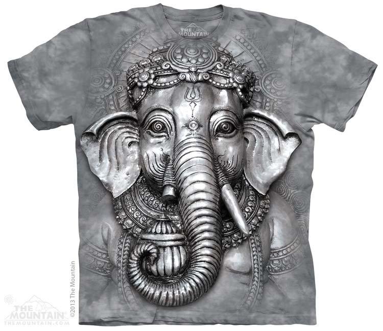 Купить The Mountain Детская футболка Big Face Ganesh - Голова бога Ганеш