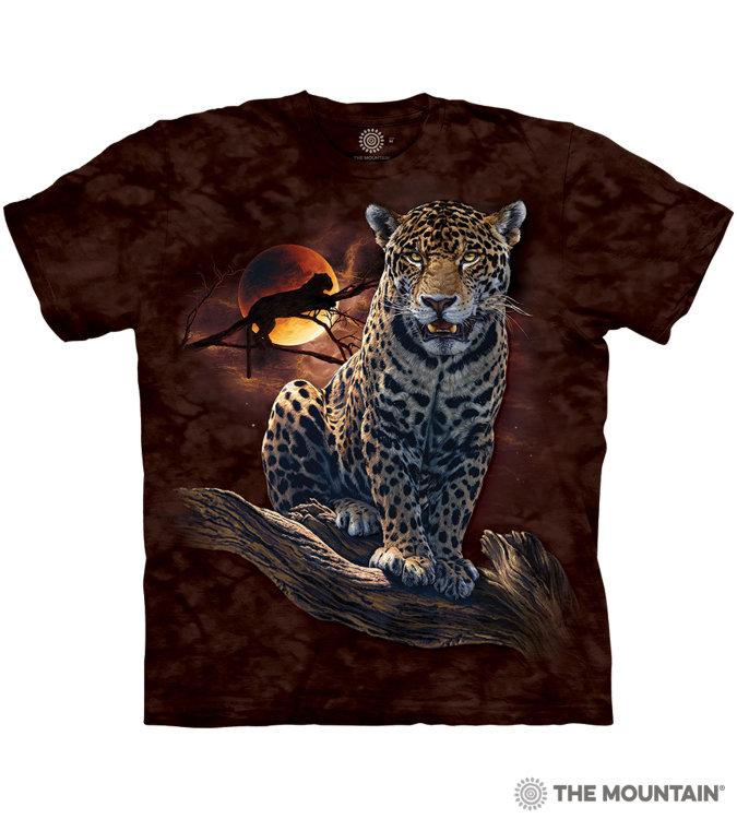 Купить The Mountain Футболка Blood Moon Leopard - Леопард кровавой луны