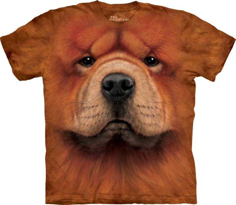 Купить The Mountain Детская футболка Chow Chow Face - Морда чау-чау