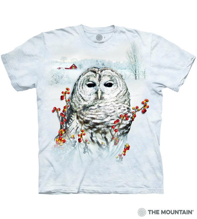 Купить The Mountain Футболка Country Owl - Деревенская сова