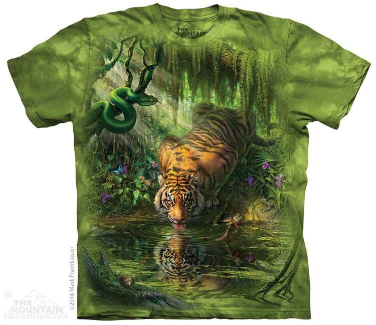 Купить The Mountain Футболка Mountain Enchanted Tiger - Заколдованный тигр