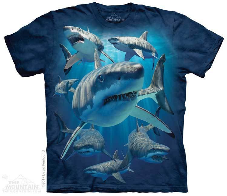 Купить The Mountain Футболка Great Whites - Большие белые акулы