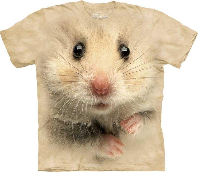 Купить The Mountain Детская футболка Hamster Face - Мордочка хомячка
