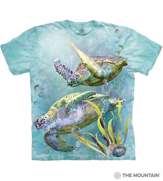 Купить The Mountain Футболка Sea Turtle Swim - Заплыв морских черепах