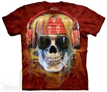 Купить The Mountain Футболка Rocker Skull - Череп рокера