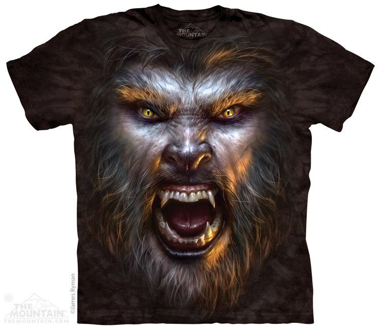 Купить The Mountain Футболка Werewolf Face - Лицо Оборотня