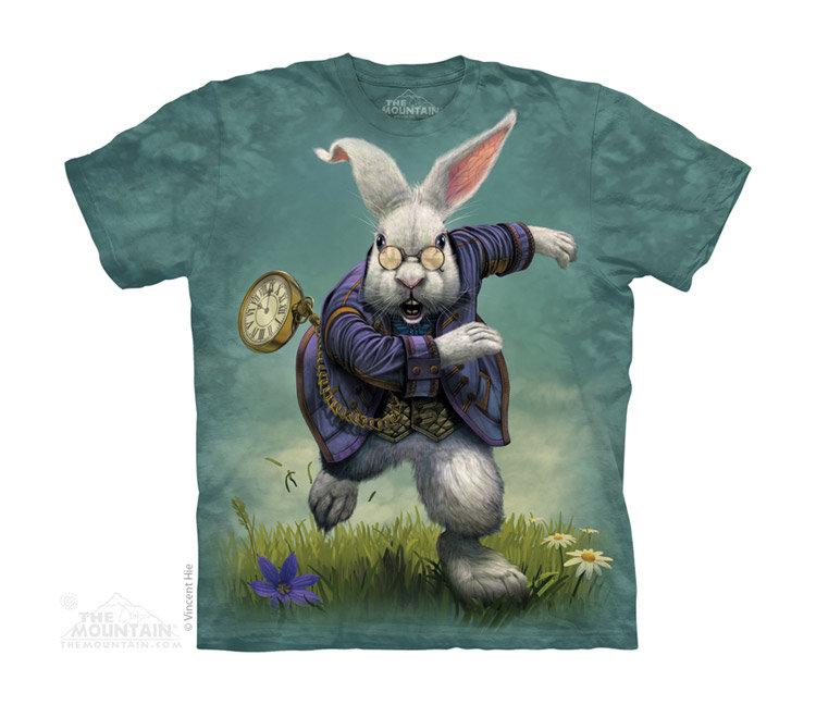 Купить The Mountain Детская футболка White Rabbit - Белый кролик