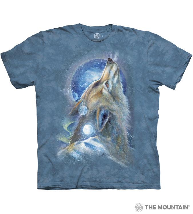 Купить The Mountain Футболка Wolf Howl - Волчий вой
