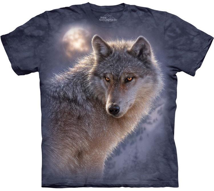 Купить The Mountain Футболка Adventure Wolf - Приключения волка