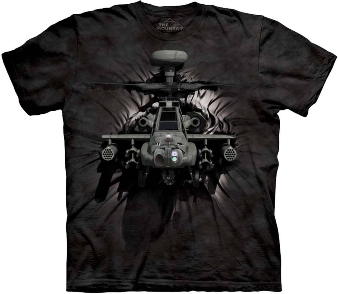 Купить The Mountain Футболка Apache Breakthrough - Вертолет Апач