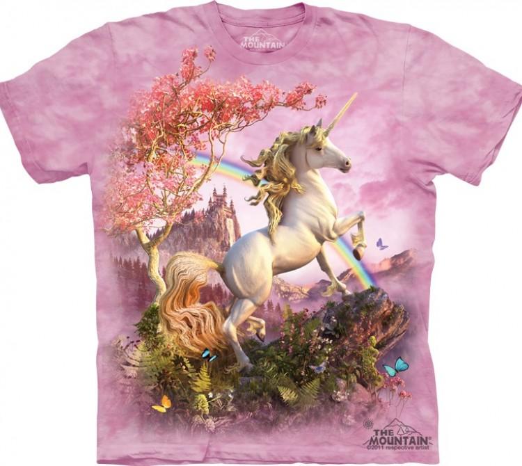 Купить The Mountain Футболка Awesome Unicorn - Необыкновенный Единорог