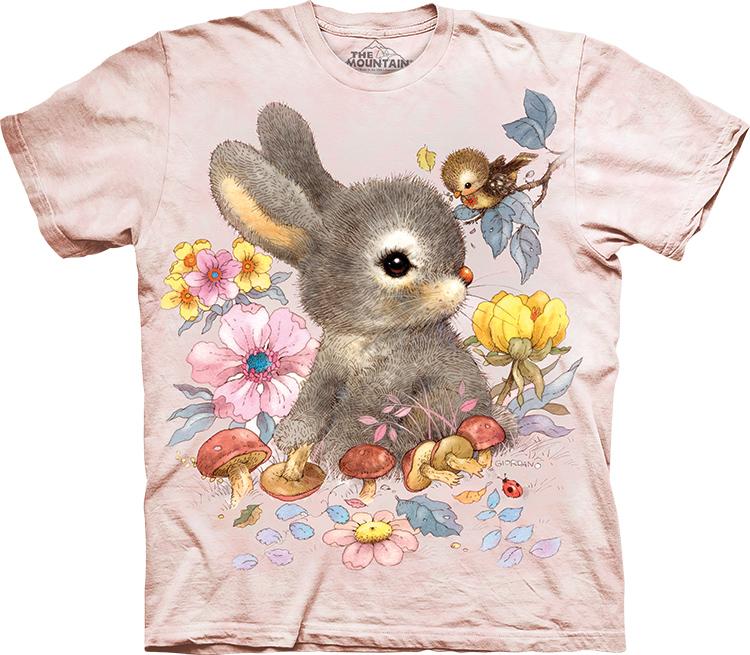 Купить The Mountain Детская футболка Baby Bunny - Маленький кролик