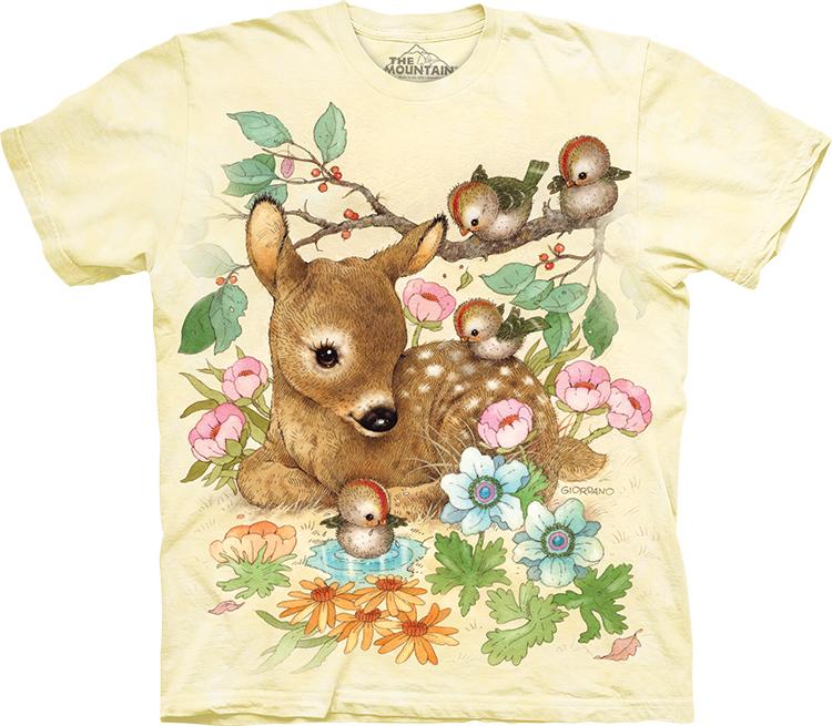 Купить The Mountain Детская футболка Baby Doe - Маленький олененок