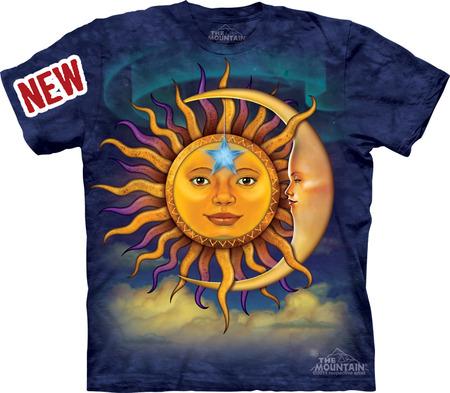 Купить The Mountain Футболка Sun Moon - Солнце и луна