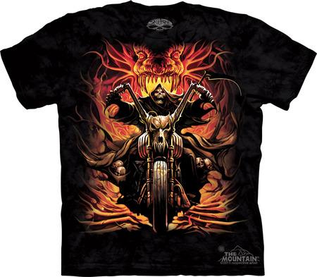Купить The Mountain Футболка Grim Rider - Байкер из ада