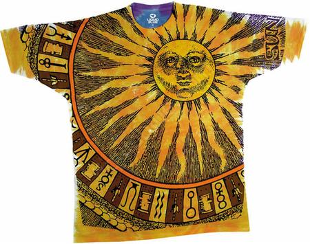 Купить Liquid Blue Футболка Sun Moon - Солнце и луна (двухсторонняя)