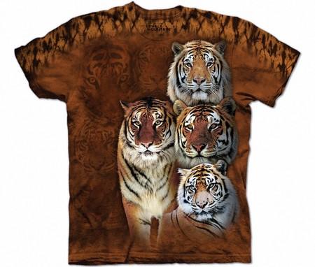 Купить The Mountain Футболка Siberian & Bengal - Сибирские и бенгальские тигры