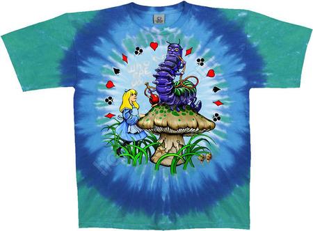 Купить Liquid Blue Футболка Alice & Caterpillar - Алиса и гусеница (двухсторонняя)