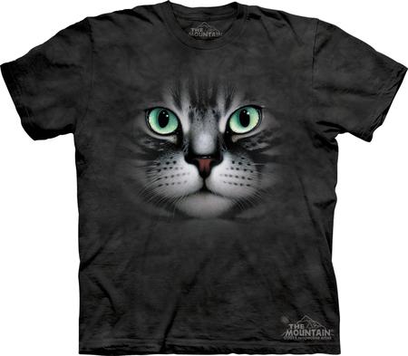 Купить The Mountain Футболка Emerald Eyes - Кошка с изумрудными глазами