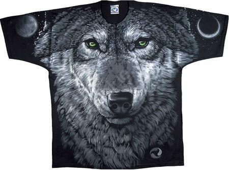 Купить Liquid Blue Футболка Arctic Wolf - Полярный волк (двухсторонняя)