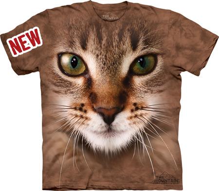 Купить The Mountain Футболка Striped Cat Face - Морда полосатого кота