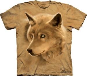 Купить The Mountain Футболка Golden Eyes - Волк с золотыми глазами