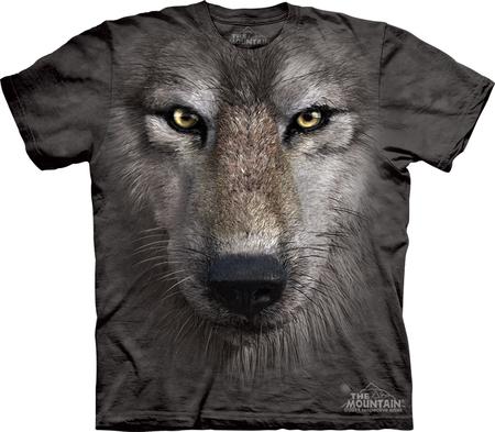 Купить The Mountain Футболка Wolf Face - Волчья морда