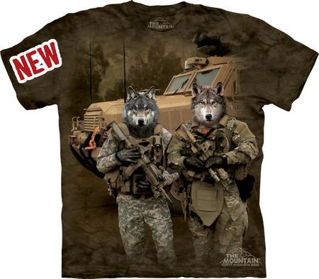 Купить The Mountain Футболка JTAC Wolfpack - Волчья стая
