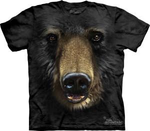 Купить The Mountain Футболка Black Bear Face - Медвежья морда