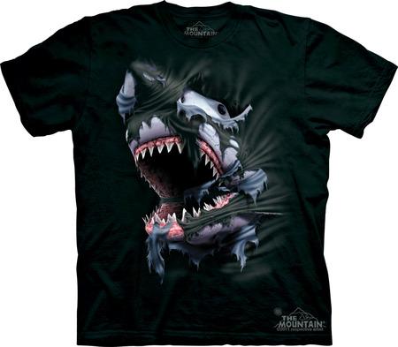 Купить The Mountain Футболка Breakthrough Shark - Рвущаяся на свободу акула