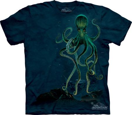 Купить The Mountain Футболка Octopus - Осьминог