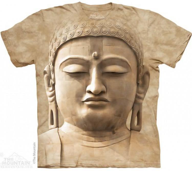 Купить The Mountain Футболка Buddha Portrait - Портрет Будды