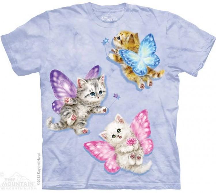 Купить The Mountain Футболка Butterfly Kitten Fairies - Сказочные котята-бабочки
